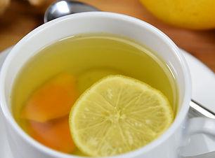 Better Vegan Turmeric Lemon Ginger Tea 