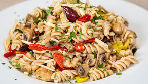 New Recipe: Vegan Gluten-Free Antipasto Pasta Salad