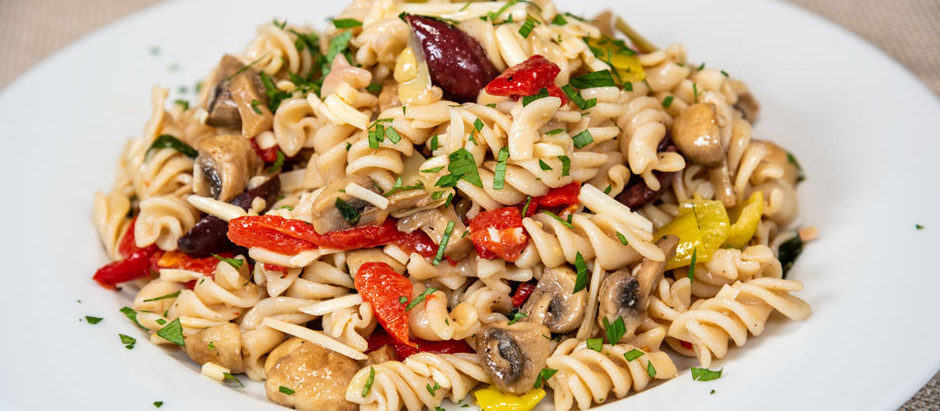 New Recipe: Vegan Gluten-Free Antipasto Pasta Salad