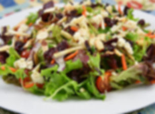 Winter Salad with Apple, Cranberries and Almond Feta