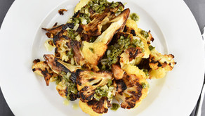 New Recipe: Roasted Cauliflower with Salsa Verde