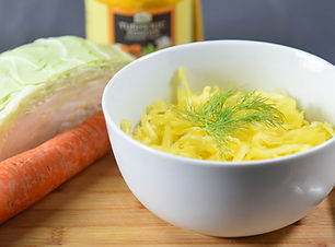 Better Vegan Raw Golden Sauerkraut