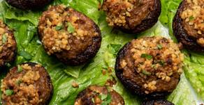New Recipe: Best Vegan Stuffed Mushrooms