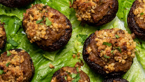 New Recipe: Best Vegan Stuffed Mushrooms