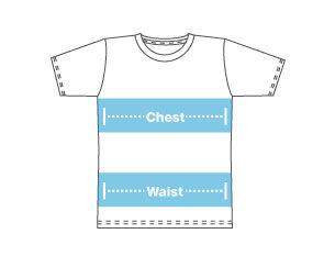 t shirt dimensions