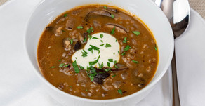 New Recipe: Vegan Wild Rice and Mushroom Soup
