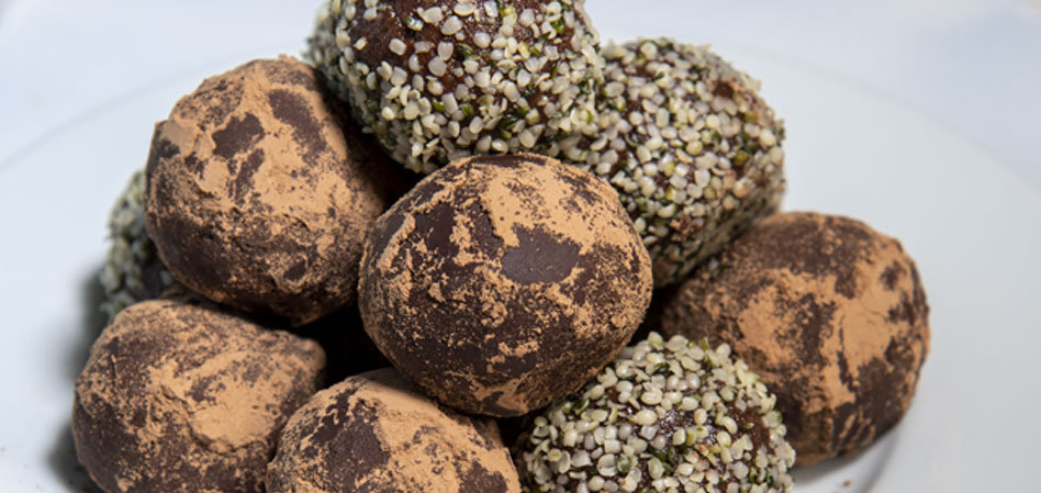 Raw Vegan Chocolate HazelnutTruffls