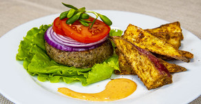 New Recipe: Vegan No-Bun Lentil and Mushroom Burgers