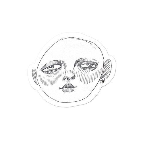 Clemmy Head Sticker