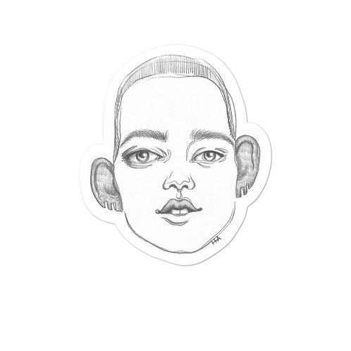 Pickle Head Sticker