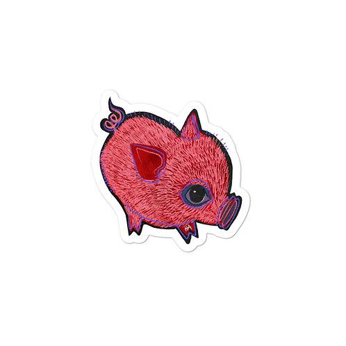 Oink Sticker