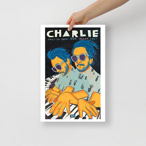"Charlie Day - Piano Man 12x18"""