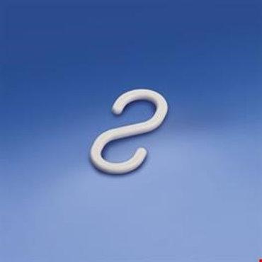 S-krok i plast 39mm, vit