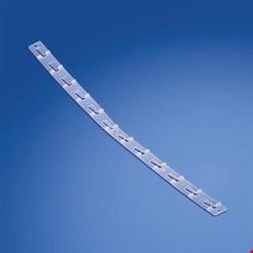 Transparent stripe med 12st krokar