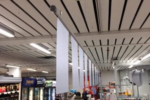 Skylthållare för tak