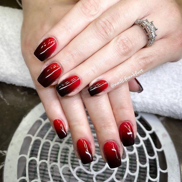 ombre gel nails