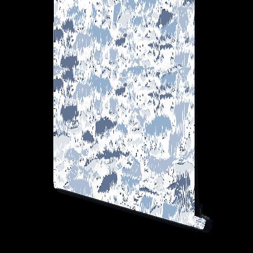 TERRAZZO BLUE WALLPAPER