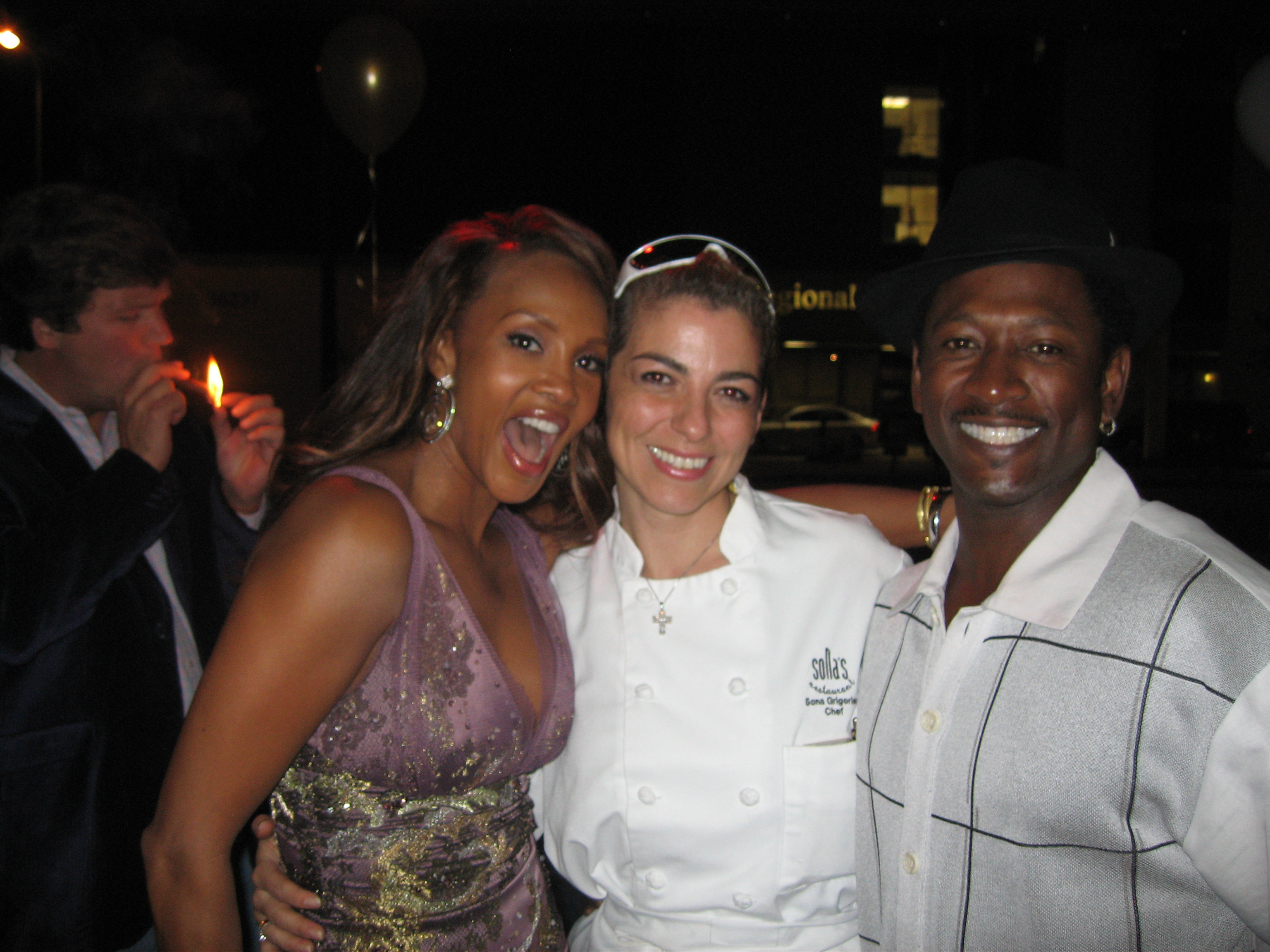 Catering Vivica A. Fox B/day