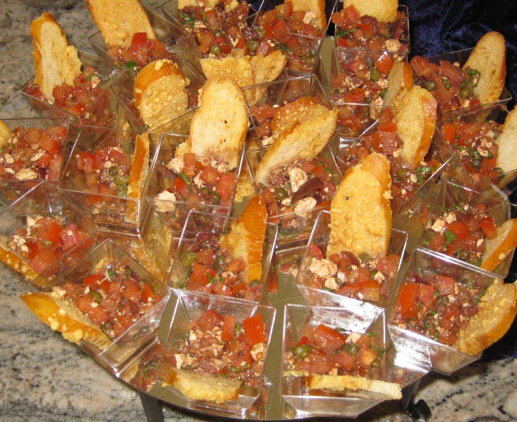 Feta Tomato Bruschetta