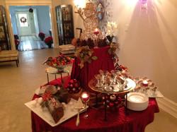 Holiday Desert Table