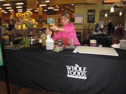 Cooking at Wholefoods