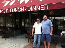 With James Gandolfini