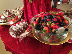 Fruit & Chocolate Cake