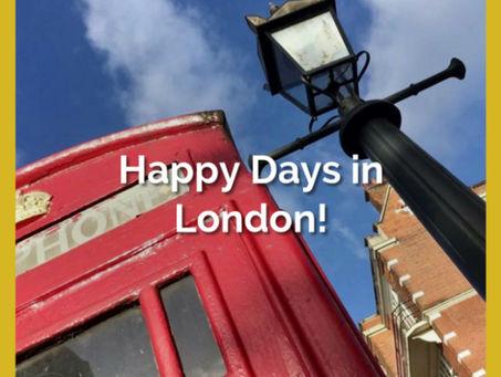 Huippuviikonloppu Lontoossa