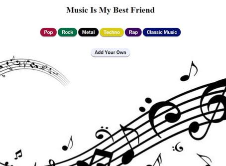 של קבוצת גרג Music is my best friend