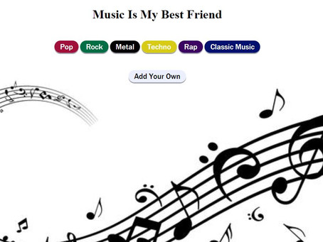 של קבוצת גרג Music is my best friend
