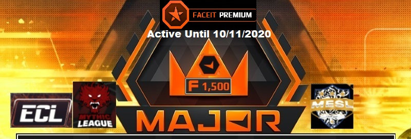 🎁🗲 Faceit 3.005 Elo | 1.70 K/D | 1,500 Points | Premium | Instant Delivery