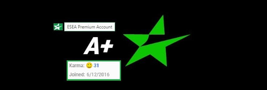 ✪ 16'ESEA Rank A+ | League History | Rank G Qualifer | 5,890 MMR | Instant Dl.