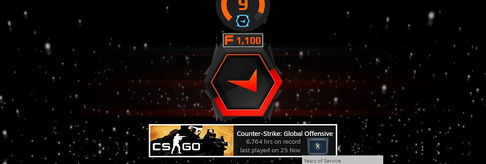 🎁 Faceit Level 9+ 1 Win   1.42 K/D   6,764 Hours   1,100 Pts   Instant Delivery