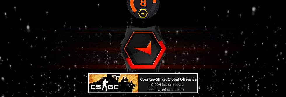 Faceit Level 8 | 1.14 K/D | 115 Matches | 8,804 Hours | Instant Delivery