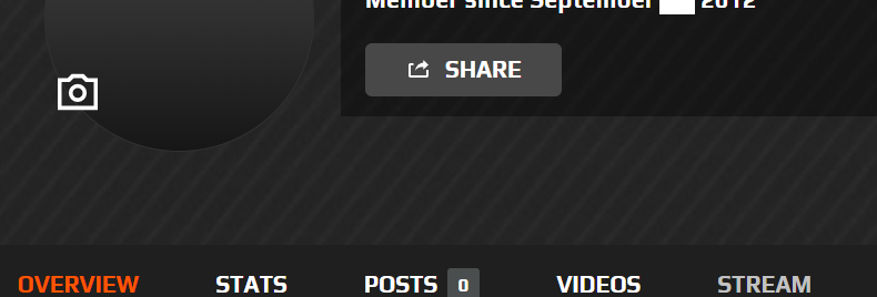 Faceit September 2012. Registered Profile | Steam Not Added | Instant Delivery