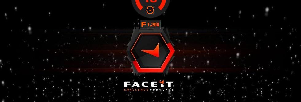 Faceit 2,203 Elo | 1.45 K/D | 1,500 Points | Verified | Instant Delivery
