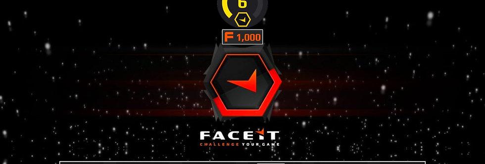 Faceit Level 6 | 1.31 K/D | 1,500 Points | Verified | Instant Delivery