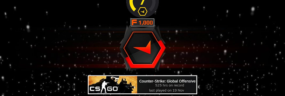 Faceit Level 7 | 2.02 K/D | 1,500 Points | 525 Hours | Instant Delivery