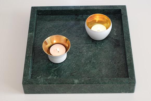 Marmorbricka i den gröna och trendiga marmorn!