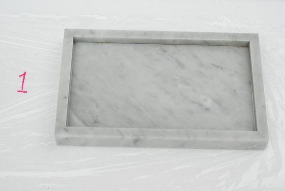 Marmorbricka, Bianco Carrara. 40*25 cm