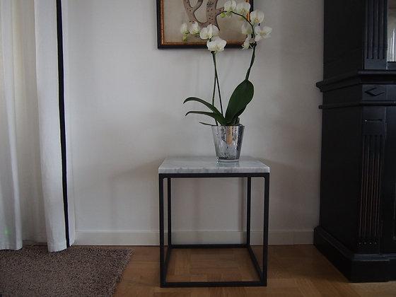 Sideboard, marmorbord. 50x50x45 cm