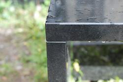 Vacker granitpall i New Belfast