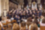 abstract blur background of a band is si