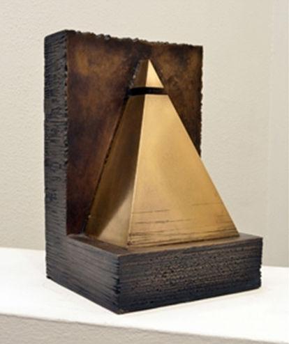 'Pinacle' 29,5x20x18 cm. bronze