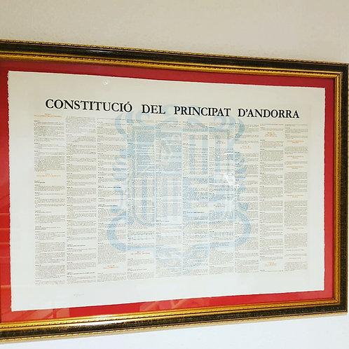 Constitució del Principat d'Andorra