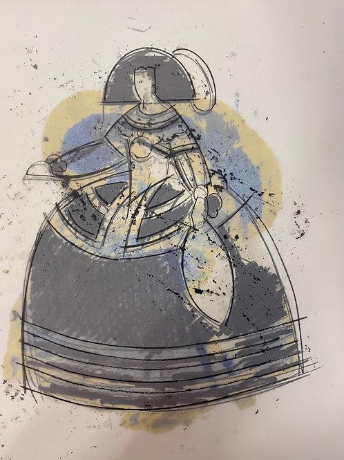 'Dancing Notes on Las Meninas' 7