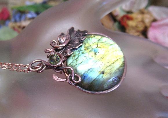 Labradorite Sunny Meadows Pendant necklace