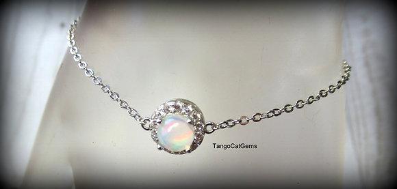 Opal  S/S    bracelet