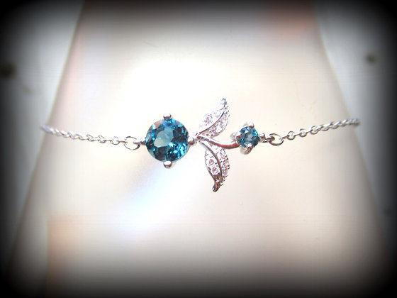 London Blue Topaz  S/S Bracelet