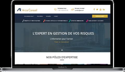 Arca Conseil Site Frédéric Nizard